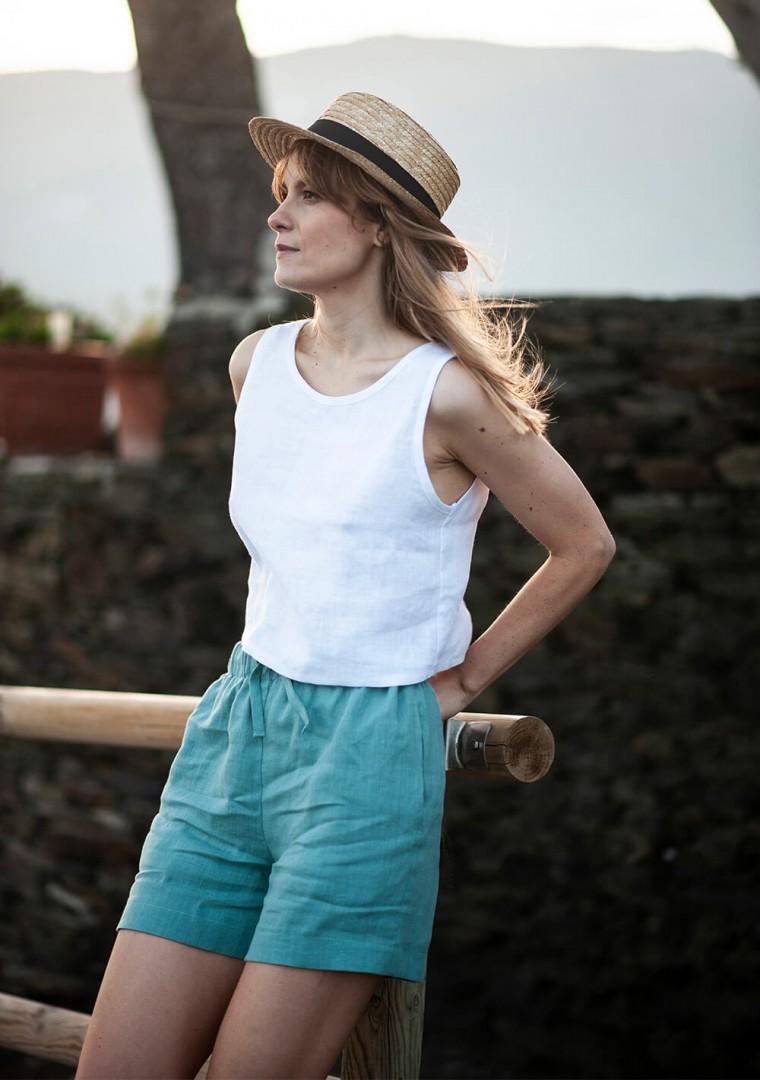 Linen shorts Kaia 4