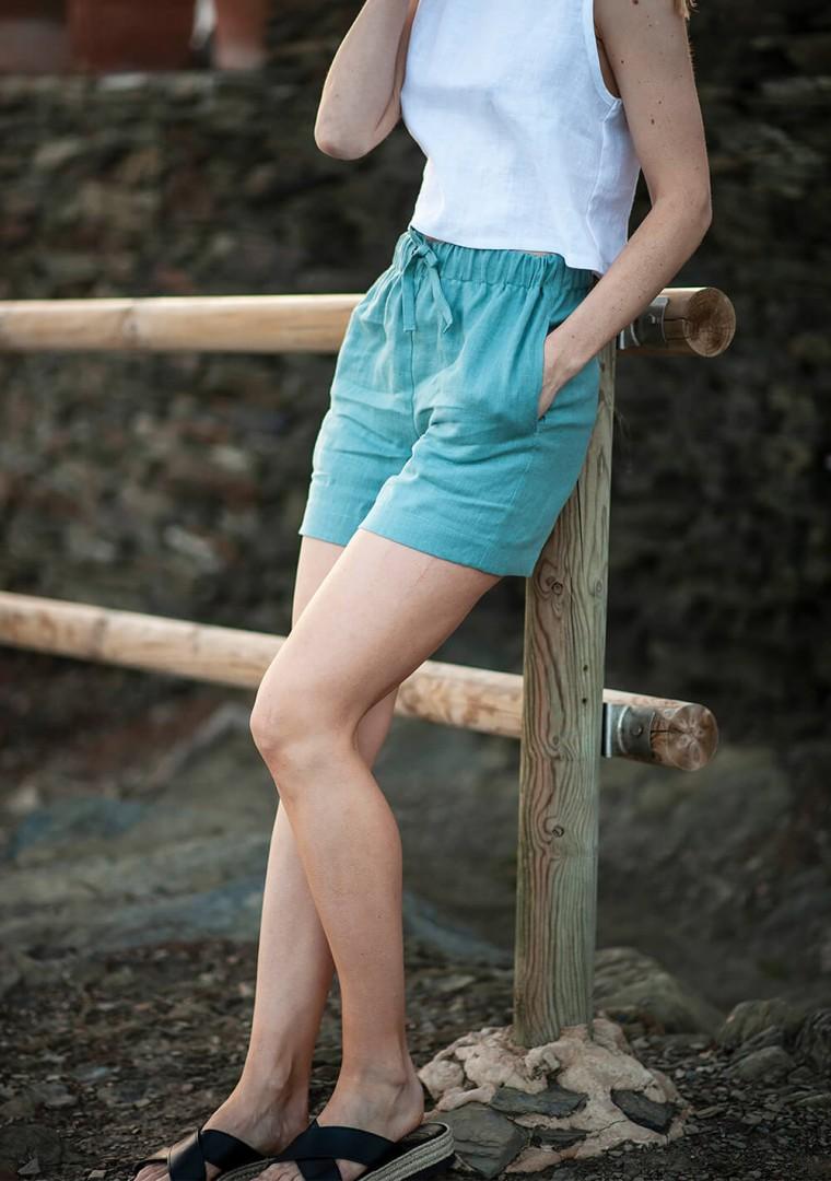 Linen shorts Kaia 2