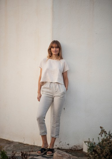 Linen crop top Berlin