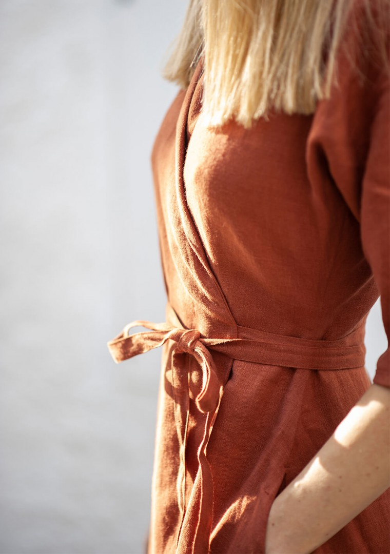 Linen dress Athena 6