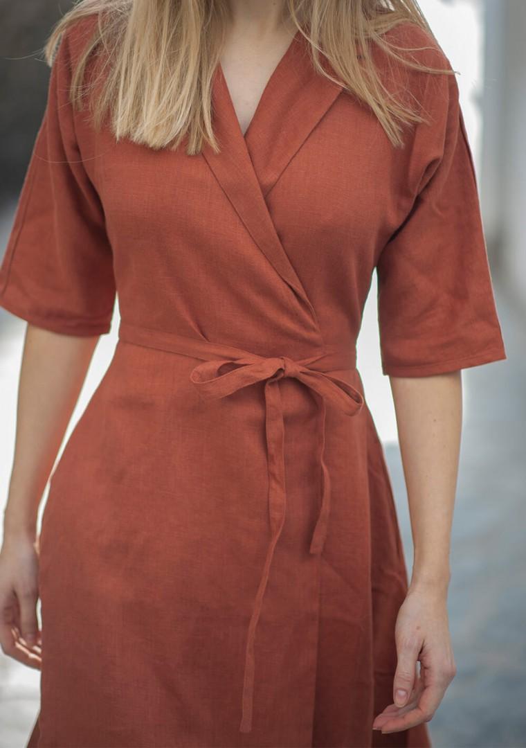 Linen dress Athena 8