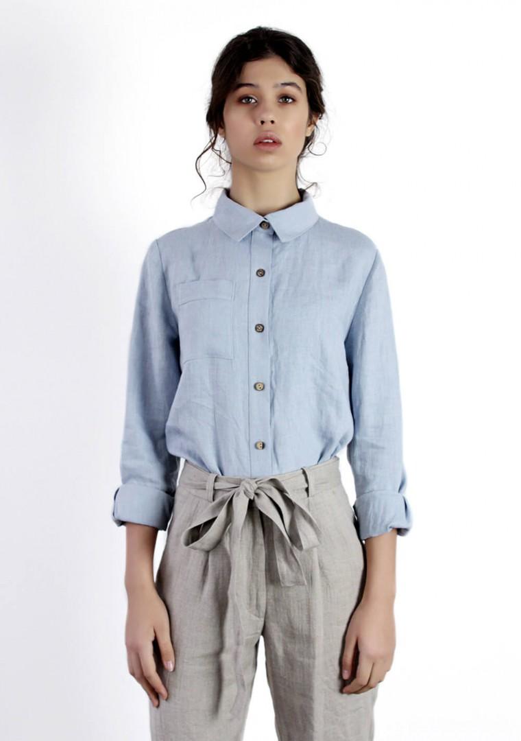 Linen shirt Iris 1