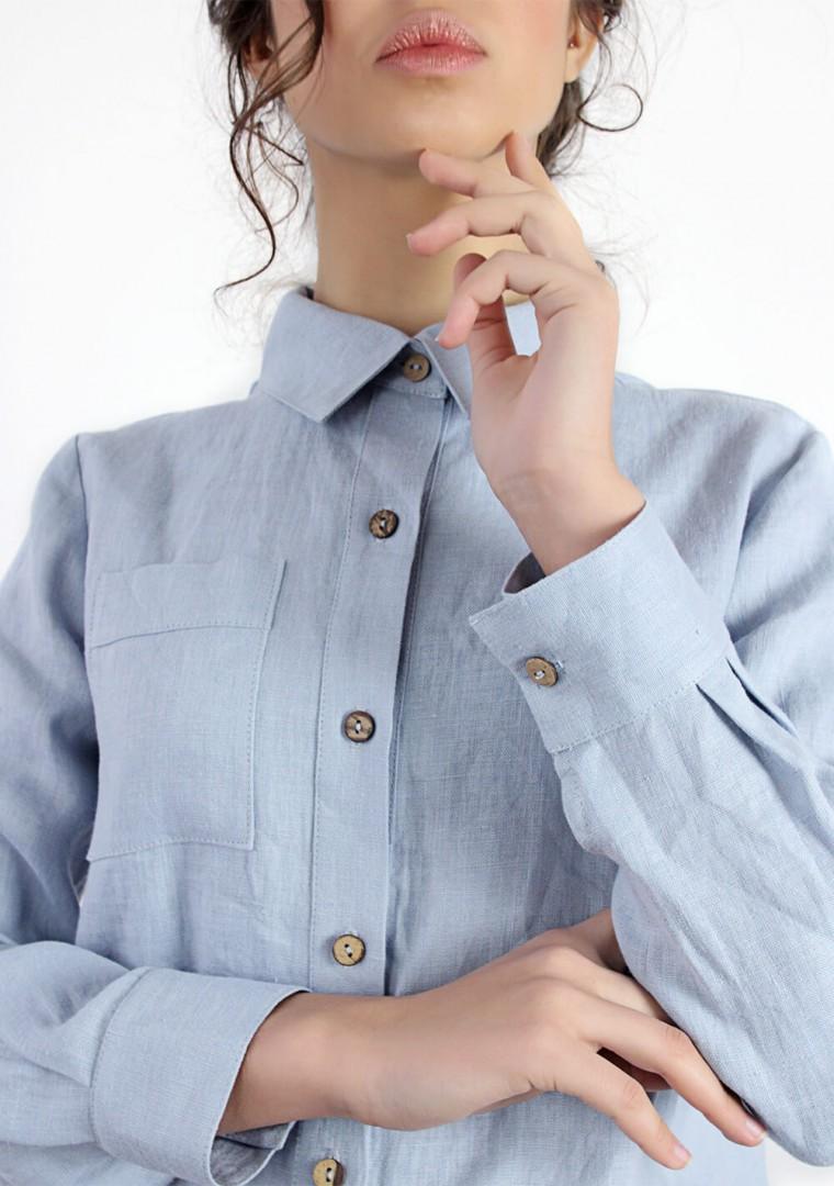 Linen shirt Iris 4