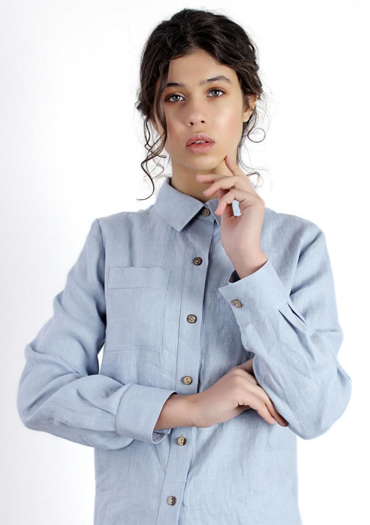 Linen shirt Iris 2