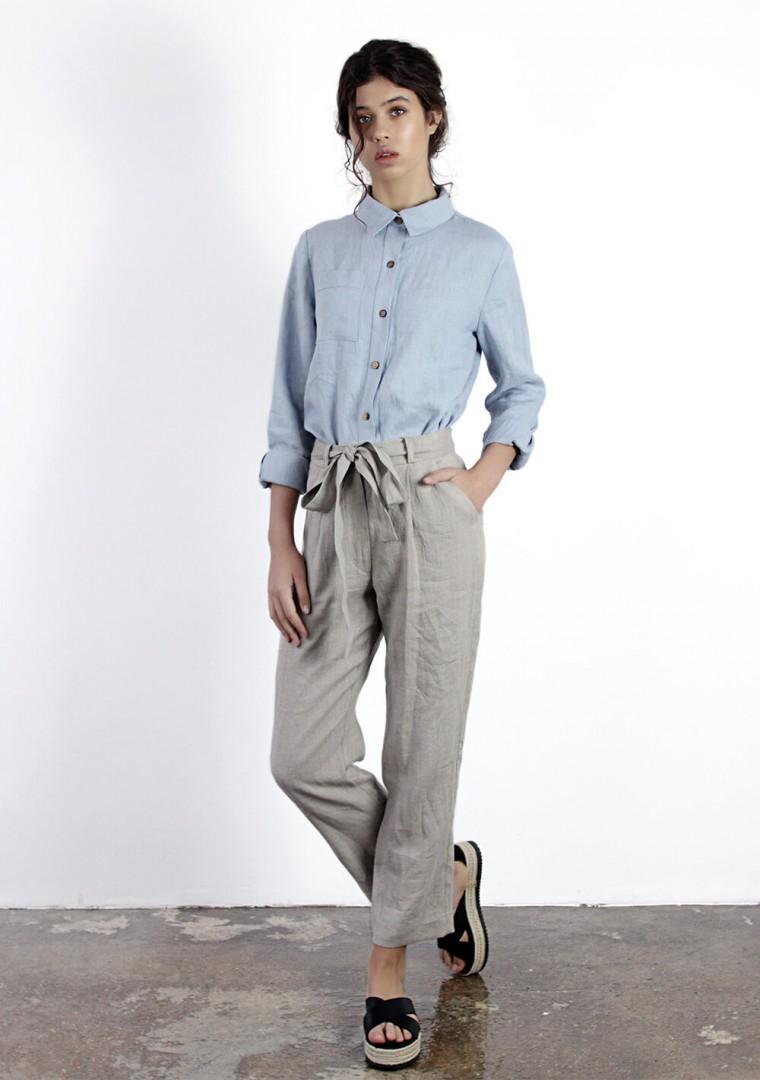 Linen shirt Iris 5