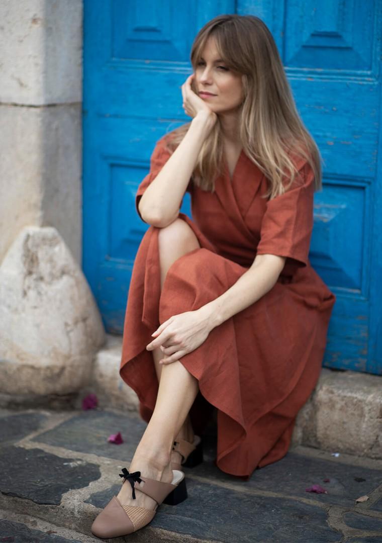 Linen dress Athena 7