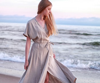 Who invented wrap dresses?